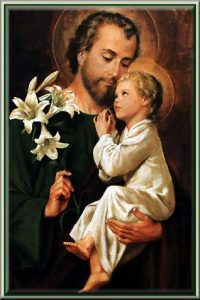 St. Joseph Feast Day is March 19