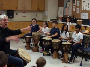 May 2 & 3: SJA Students Learn about Musical Instruments