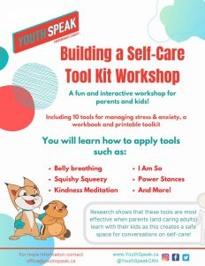 March 10:  Virtual Mental Health Workshops at SJA!